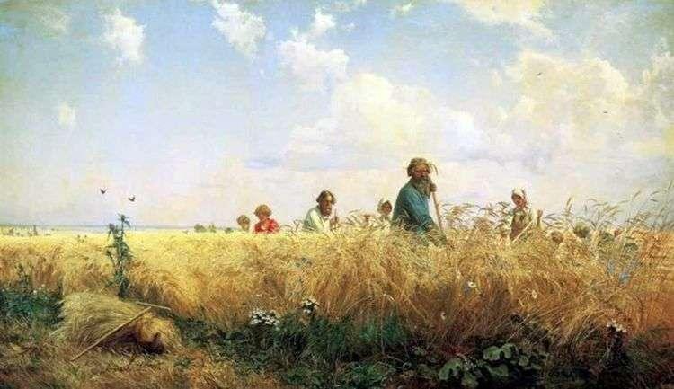 Косцы (Страдная пора)   Григорий Мясоедов
