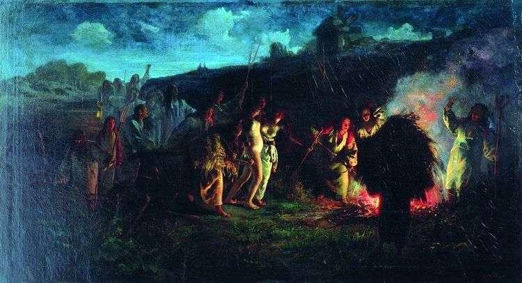 Опахивание   Григорий Мясоедов