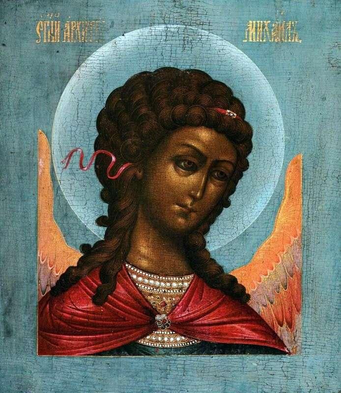 Архангел Михаил, из деисусного чина