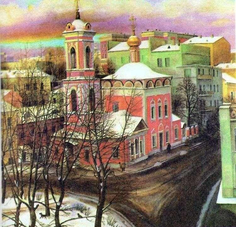 Церковь Вознесения на улице Неждановой   Татьяна Назаренко