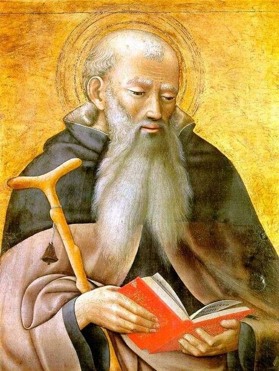 Святой Антоний   Мастер триптиха Обсерванца