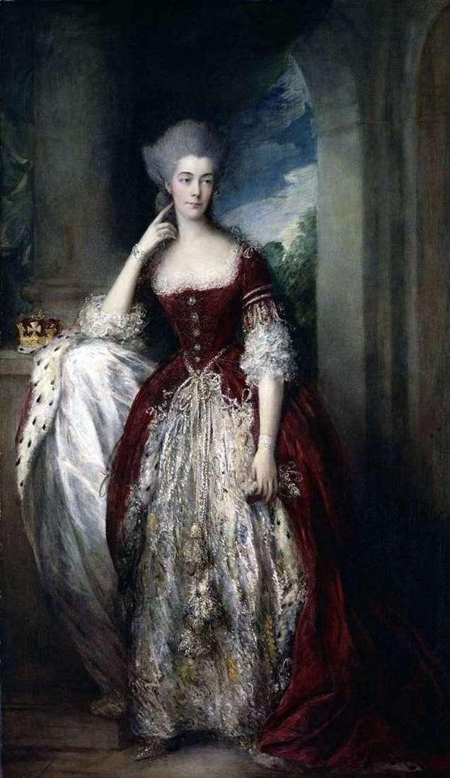 Портрет Анны, герцогини Камберленд и Стрэтхем   Томас Гейнсборо