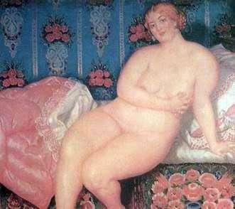 Красавица   Борис Кустодиев