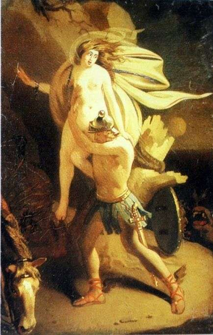 Персей и Андромеда   Карл Брюллов