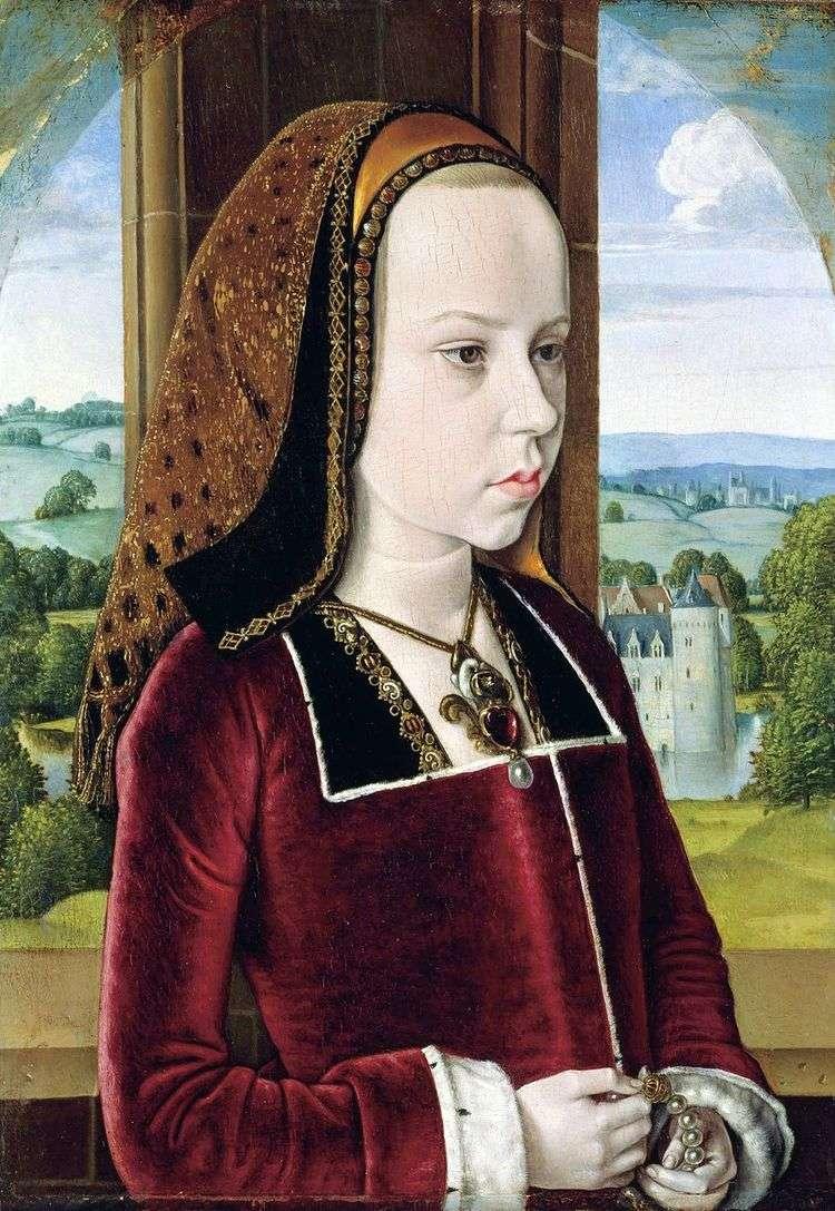 Портрет принцессы   Мастер из Мулена