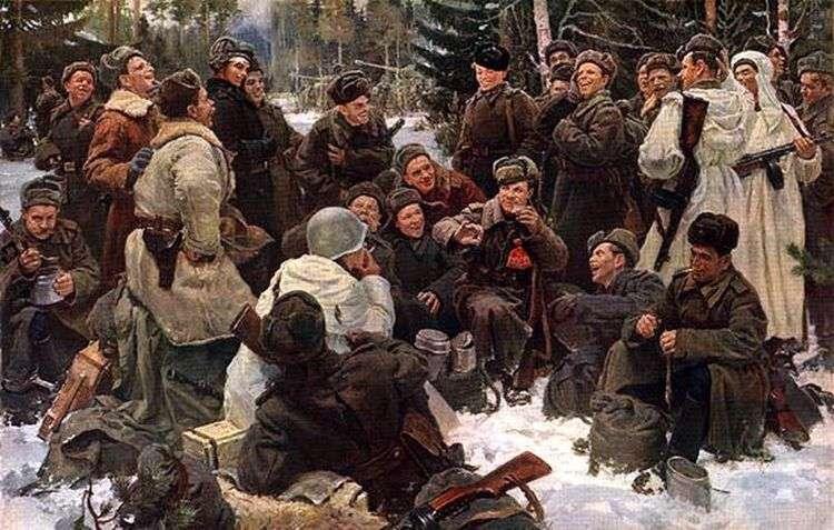 Отдых после боя   Юрий Непринцев
