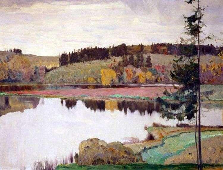 Осенний пейзаж   Михаил Нестеров