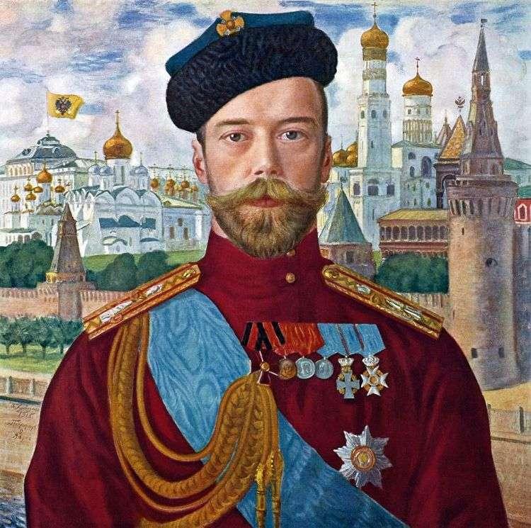 Николай II   Борис Кустодиев