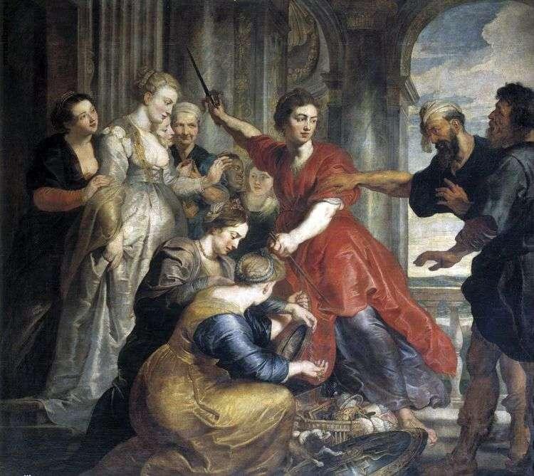 Ахилл, Одиссей и Диомед   Питер Рубенс