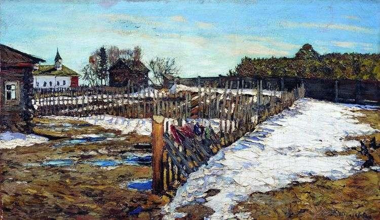 Весна в западном крае   Леонард Туржанский