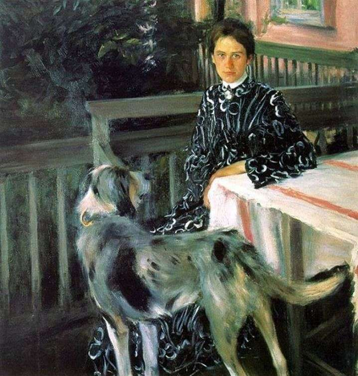 Портрет жены Юлии Кустодиевой   Борис Кустодиев