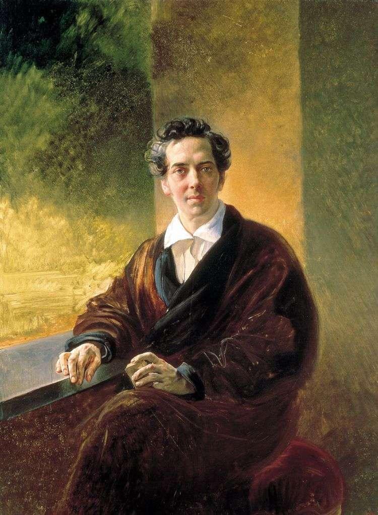 Портрет графа B. А. Перовского   Карл Брюллов