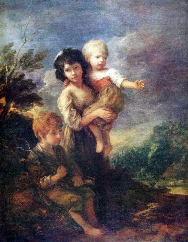 Собиратели хвороста   Томас Гейнсборо