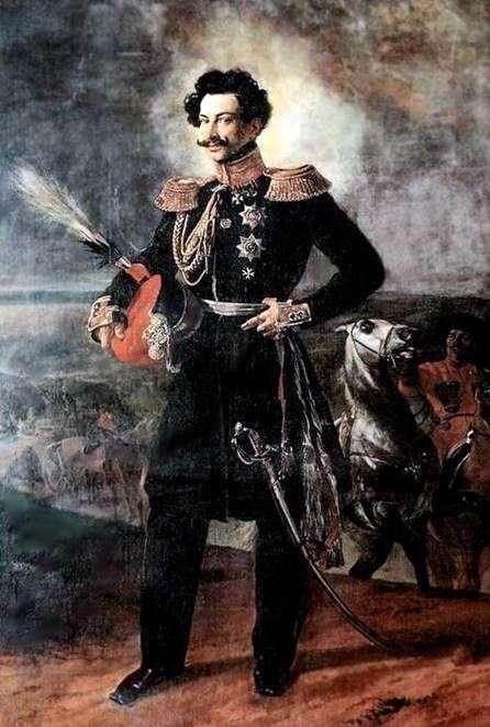 Портрет графа А. А. Перовского   Карл Брюллов