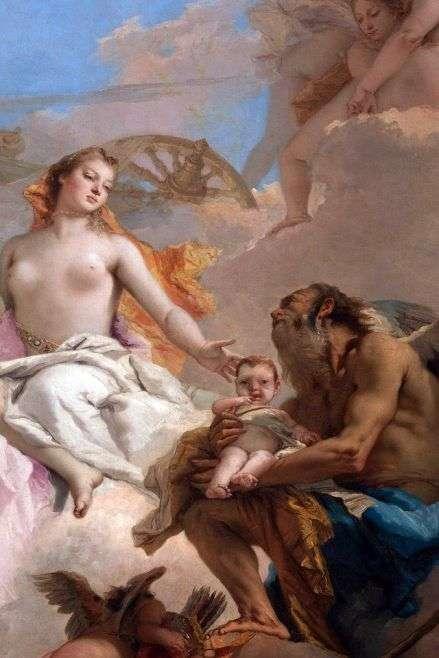 Аллегория с Венерой и Временем   Джованни Баттиста Тьеполо