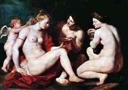 Венера, Купидон, Бахус и Церера   Питер Рубенс