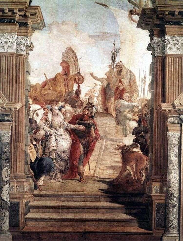 Встреча Антония и Клеопатры   Джованни Баттиста Тьеполо