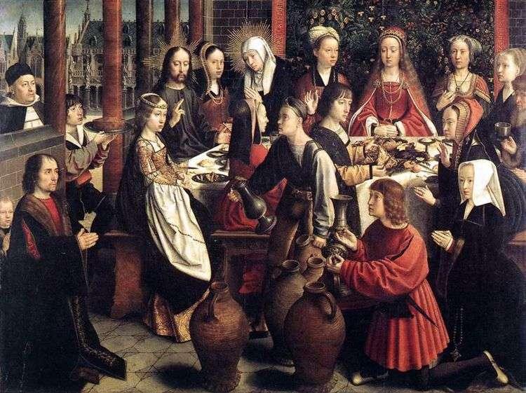 Брак в Канне   Герард Давид
