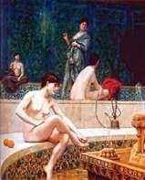 Турецкая баня в гареме   Жан Леон Жероме