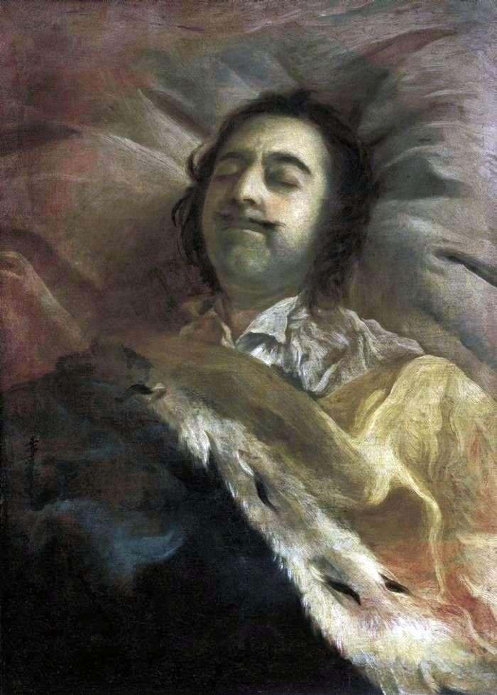 Петр I на смертном ложе   Иван Никитин