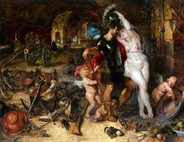 Возвращение с войны   Питер Рубенс