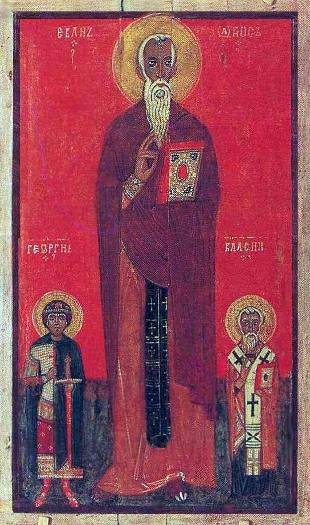 Иоанн Лествичник, Георгий и Власий