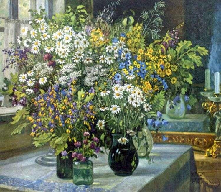 Натюрморт. Полевые цветы   Александр Герасимов