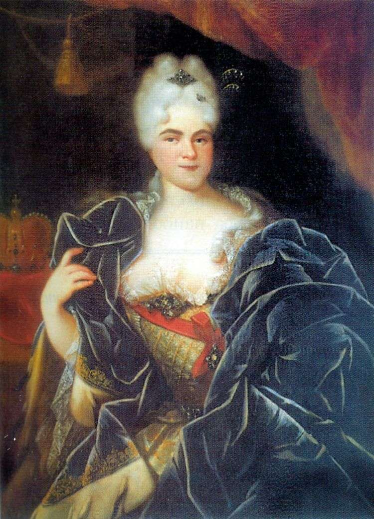 Портрет императрицы Екатерины I   Иван Никитин