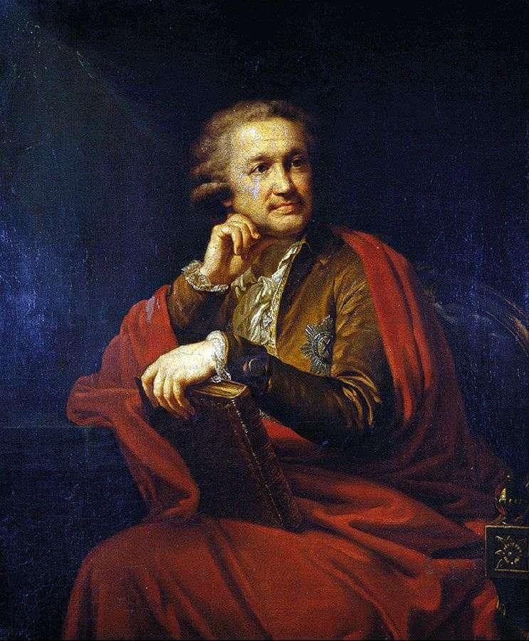 Портрет А. С. Строганова   Иоганн Баптист Лампи