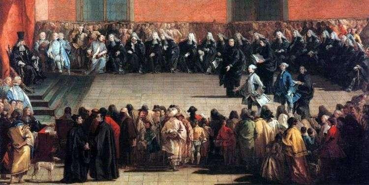 Собрание в Арене   Джованни Баттиста Тьеполо