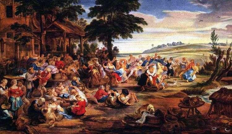 Деревенский праздник   Питер Рубенс