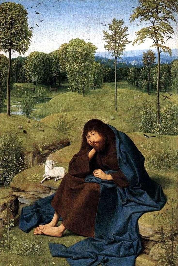 Святой Иоанн Креститель в пустыне   Янс Синт тот Гертген