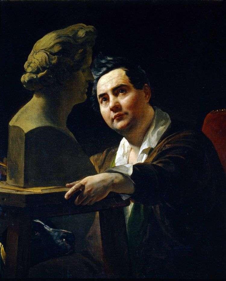 Портрет скульптора И. П. Витали   Карл Брюллов