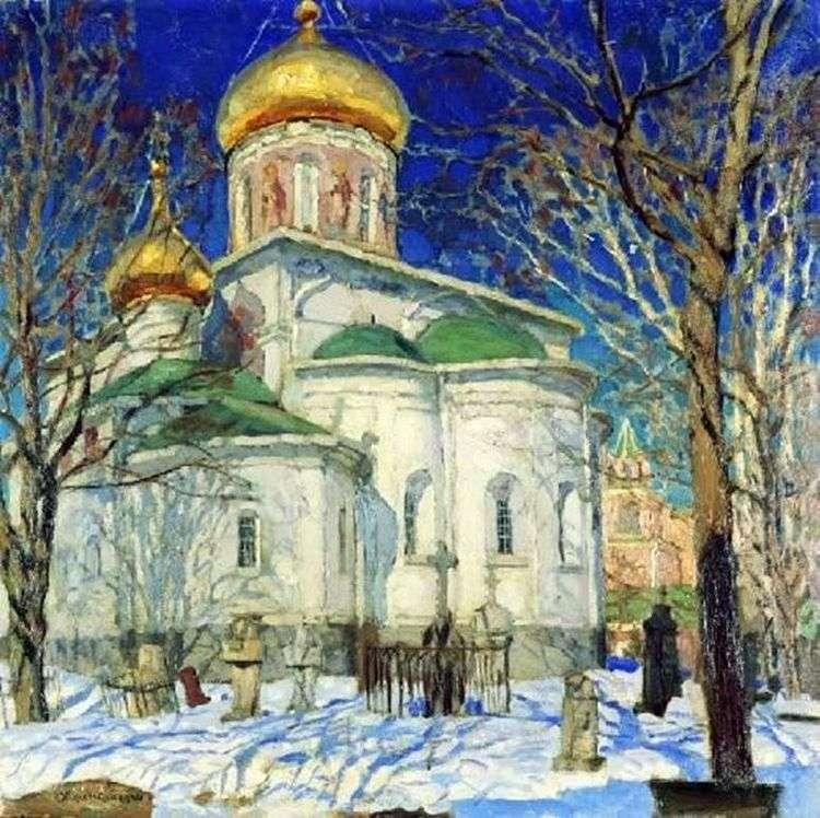 Храм Рождества Богородицы. Звенигород   Станислав Жуковский