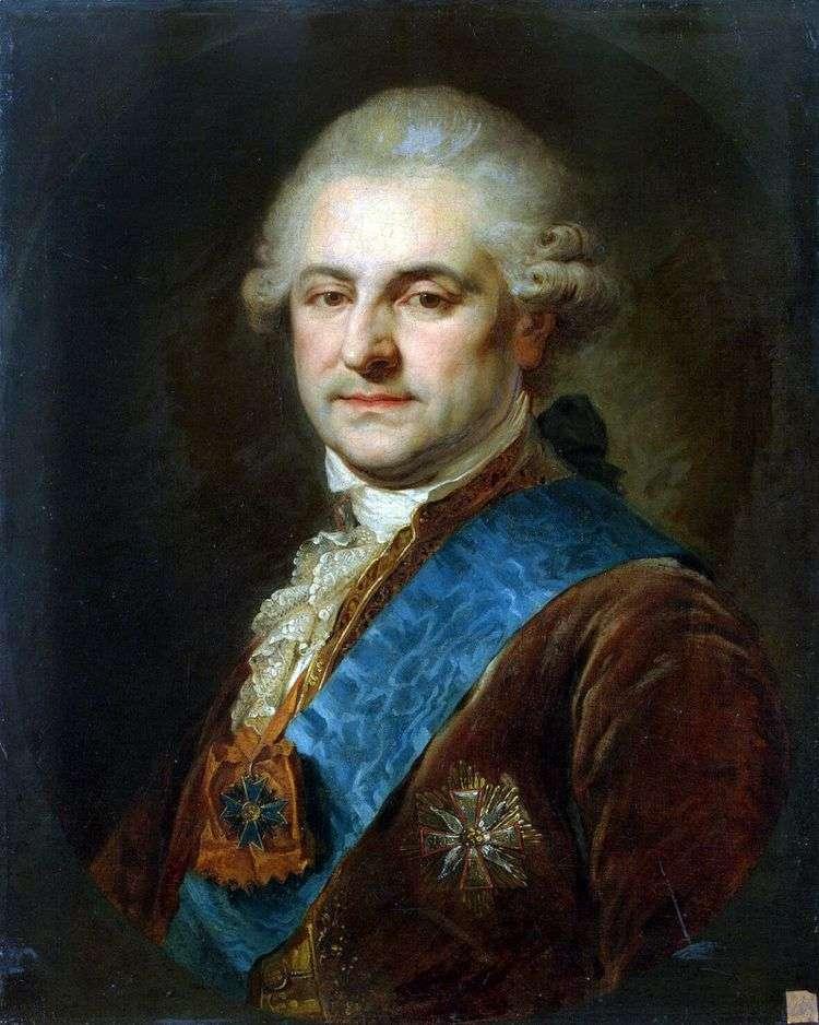 Портрет Станислава   Августа Понятовского   Иоганн Баптист Лампи