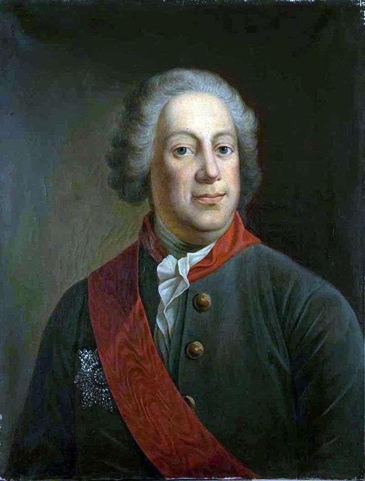 Портрет барона И. А. Корфа, президента Императорской Академии наук   Иван Алексеевич Тюрин
