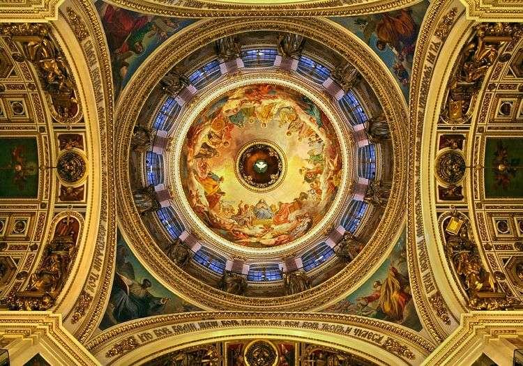Росписи плафона Исаакиевского собора   Карл Брюллов