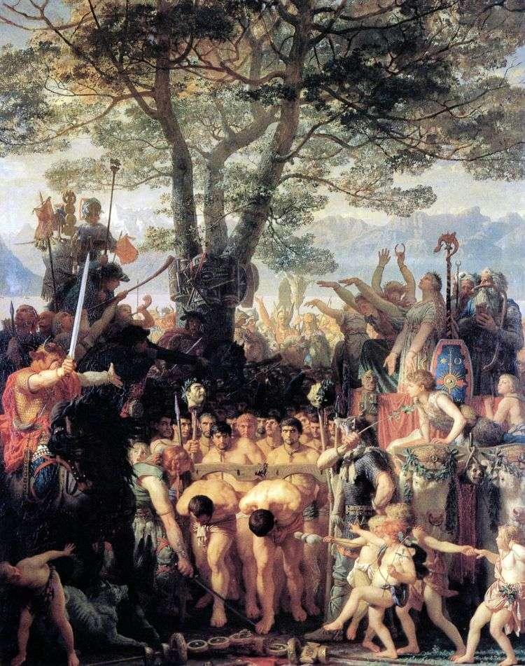 Римляне под игом   Шарль Глейр