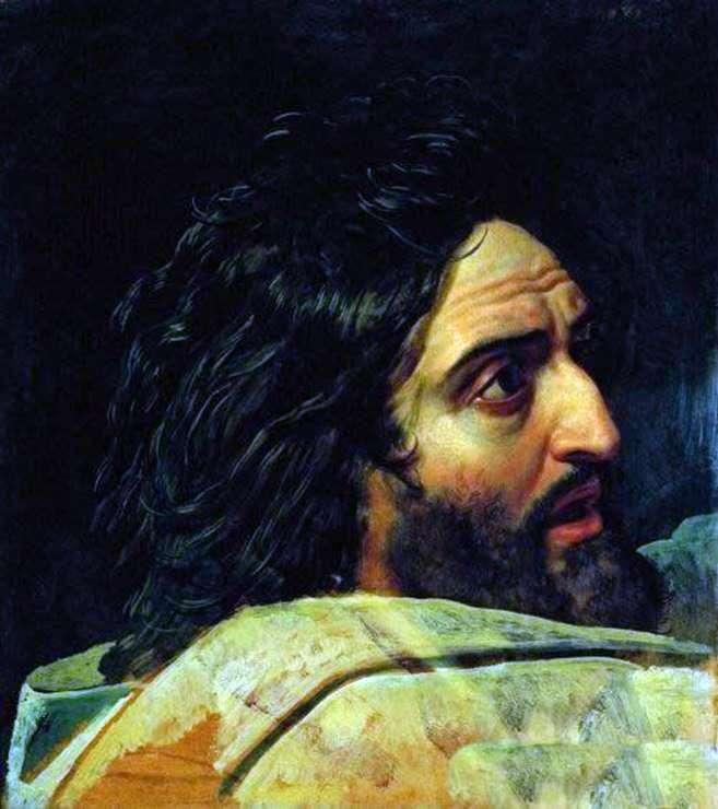 Образ Иоанна Крестителя. Фрагмент картины   Александр Иванов