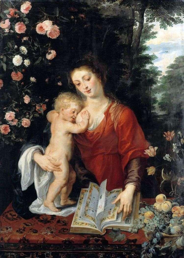 Мадонна с Младенцем   Питер Рубенс