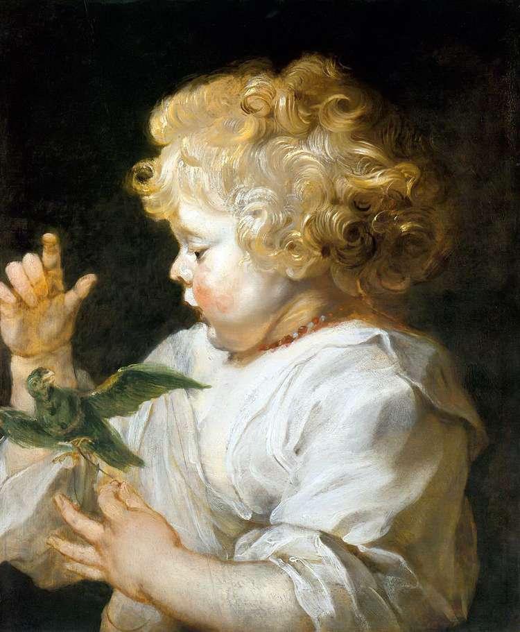 Мальчик с птичкой   Питер Рубенс