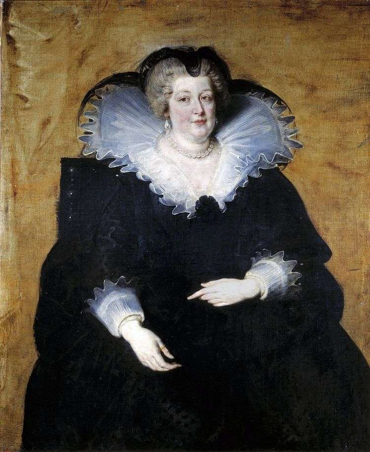 Мария Медичи   королева Франции   Питер Рубенс