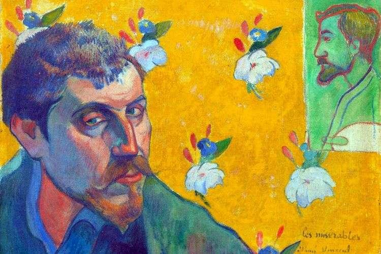 Автопортрет Les Miserables (отверженные)   Поль Гоген