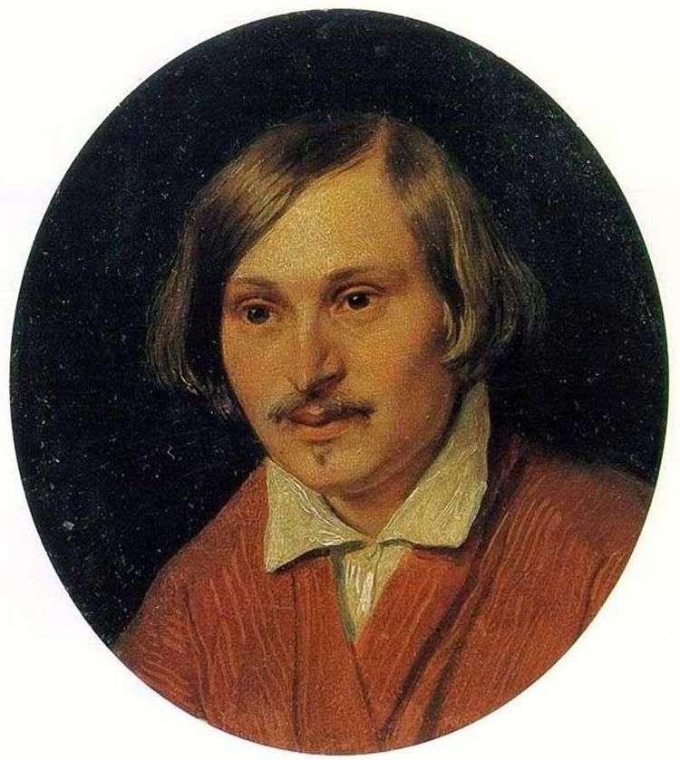 Портрет Н. В. Гоголя   Александр Иванов