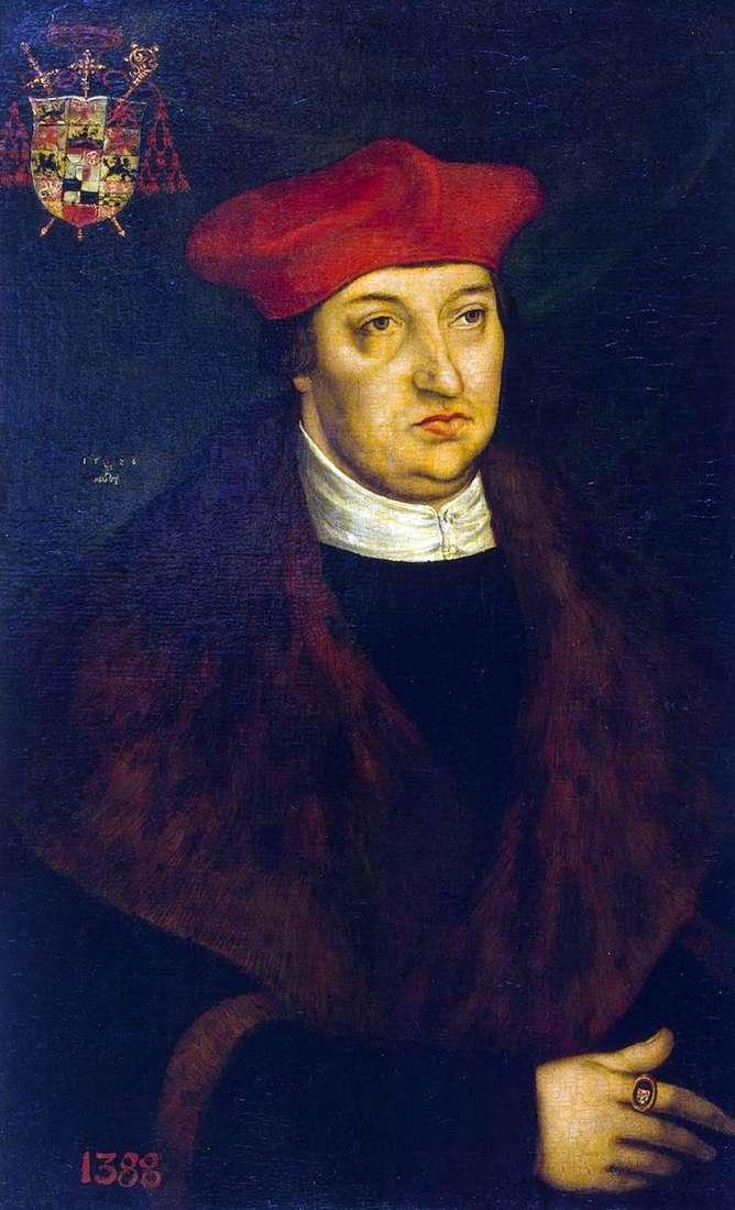 Портрет кардинала Альбрехта Бранденбургского   Лукас Кранах
