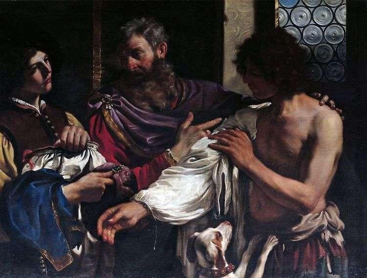 Возвращение блудного сына   Гверчино