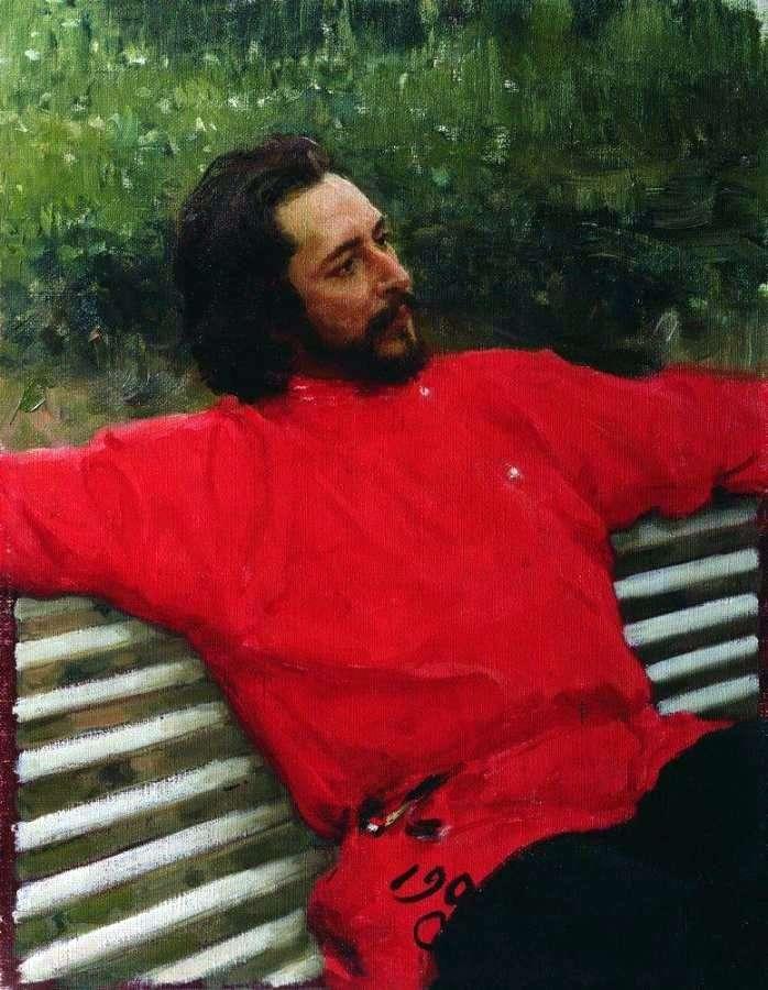 Портрет Андреева   Илья Репин