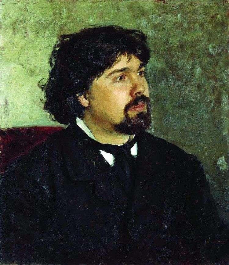 Портрет В. С. Сурикова   Илья Репин