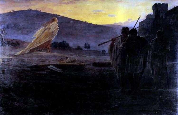 Вестники Воскресения   Николай Ге