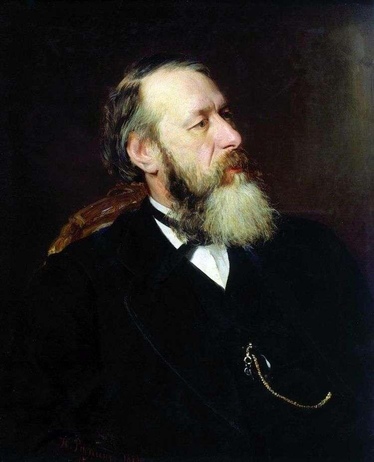 Портрет критика В. В. Стасова   И. Е. Репин